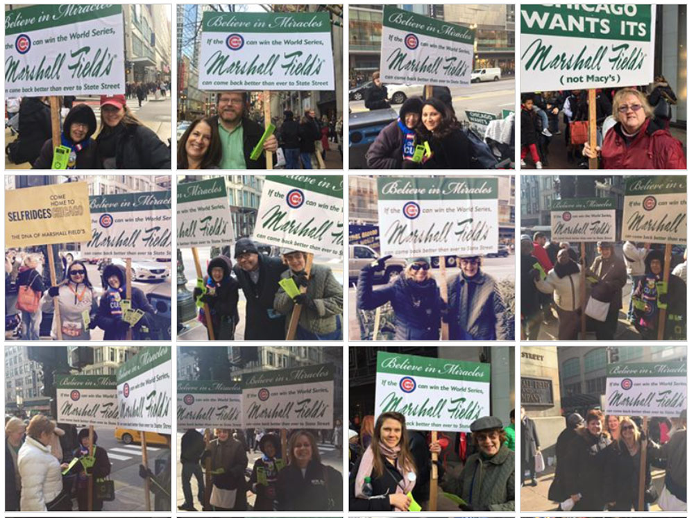 Chicago wants marshall fields while macys struggles here are 200 more photos featuring 250 fields loyalists representing 79 of chicagos the worlds shoppers who continue to say publicscrutiny Choice Image